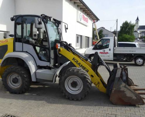 Vermietung Baumaschinen Falkinger Putzleinsdorf